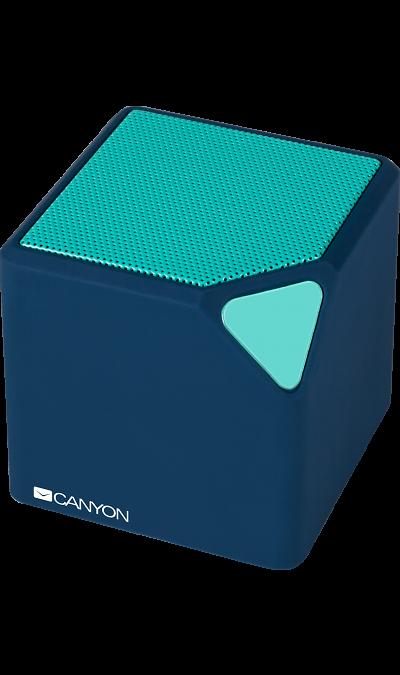 Canyon Колонка портативная Canyon CNE-CBTSP2 Teal canyon cne cpb78 white внешний аккумулятор