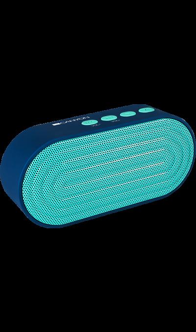 Колонка портативная Canyon CNE-CBTSP3Портативная акустика<br>Этот компактный беспроводной динамик - воплощение идеального сочетания яркого дизайна и широкой функциональности. Благодаря наличию встроенного микрофона, вы сможете не только слушать любимую музыку, но и принимать звонки. AUX-разъем и возможность воспроизведения с Micro-SD карты обеспечивают альтернативные Bluetooth варианты подключения к плеерам. Длительность работы на одном заряде доходит до 8 часов. Это легкое портативное устройство создано, чтобы сопровождать вас в условиях современной, мобильной ...<br>