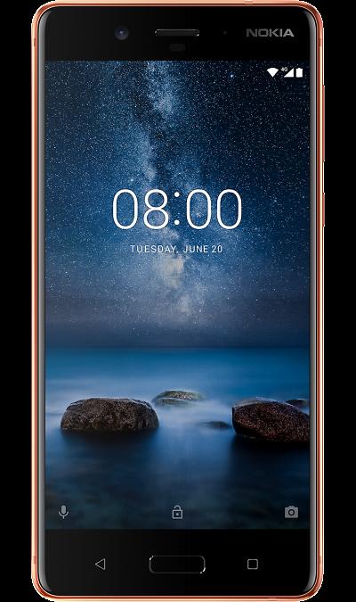 Nokia 8 Глянцевый медныйСмартфоны<br>2G, 3G, 4G, Wi-Fi; ОС Android; Камера 13 Mpix, AF; Разъем для карт памяти; MP3, FM,  GPS / ГЛОНАСС; Повышенная защита корпуса; Вес 160 г.<br><br>Colour: Коричневый