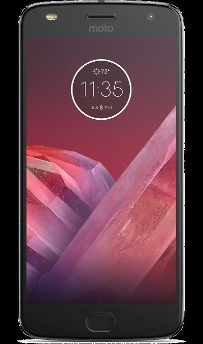 Motorola Moto Z2 Play GreyСмартфоны<br>2G, 3G, 4G, Wi-Fi; ОС Android; Дисплей сенсорный 16,7 млн цв. 5.5; Камера 12 Mpix, AF; Разъем для карт памяти; MP3, FM,  BEIDOU / GPS / ГЛОНАСС; Время работы 295 ч. / 25.0 ч.; Вес 145 г.<br><br>Colour: Серебристый