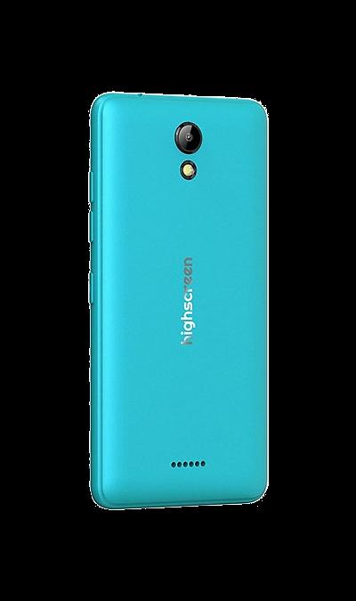 Highscreen Сменная панель Highscreen для Easy S/Pro, пластик, голубой highscreen easy s pro