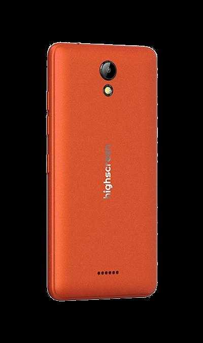 Highscreen Сменная панель Highscreen для Easy S/Pro, пластик, оранжевый highscreen аккумулятор для easy s easy s pro 2200 mah
