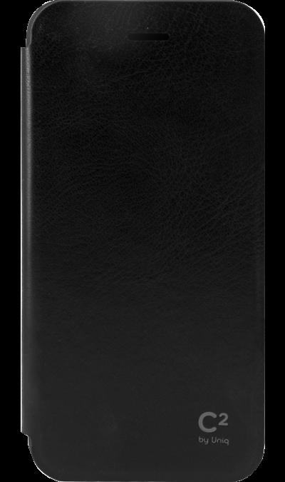 Чехол-книжка Uniq для Apple iPhone 6/6s, кожзам, черныйЧехлы и сумочки<br>Чехол поможет не только защитить ваш Apple iPhone 6 от повреждений, но и сделает обращение с ним более удобным, а сам аппарат будет выглядеть еще более элегантным.<br><br>Colour: Черный