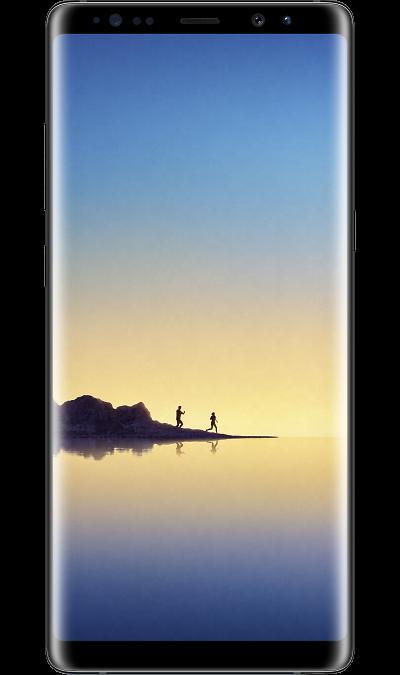 Samsung Galaxy Note8 Black (черный бриллиант)Смартфоны<br>2G, 3G, 4G, Wi-Fi; ОС Android; Дисплей сенсорный емкостный 6.3; Камера 12 Mpix, AF; Разъем для карт памяти; MP3,  GPS / ГЛОНАСС; Повышенная защита корпуса; Вес 190 г.<br><br>Colour: Черный