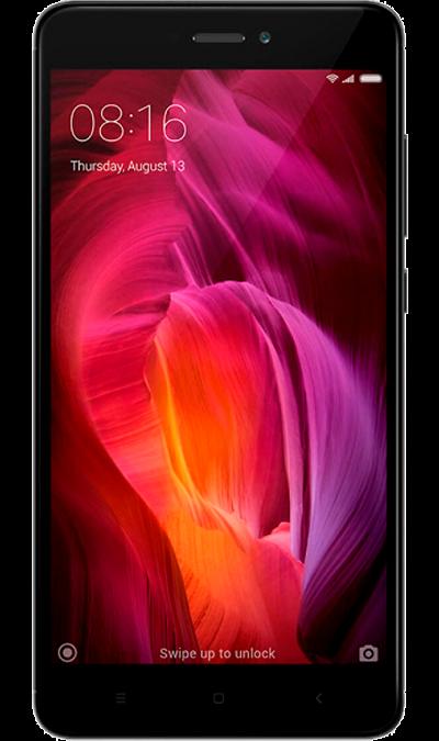 Xiaomi Xiaomi Redmi Note 4 LTE 32Gb Black + Включайся! Общайся на несколько месяцев смартфон fly fs523 cirrus 16 lte black