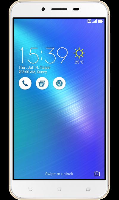 ASUS ZenFone 3 Max ZC553KL 16Gb GoldСмартфоны<br>2G, 3G, 4G, Wi-Fi; ОС Android; Дисплей сенсорный 16,7 млн цв. 5.5; Камера 16 Mpix, AF; Разъем для карт памяти; MP3, FM,  GPS / ГЛОНАСС; Вес 175 г.<br><br>Colour: Золотистый