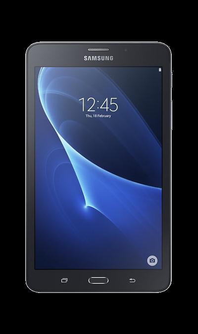Samsung Galaxy Tab A 7.0 SM-T285 8GbПланшеты<br>2G, 3G, 4G, Wi-Fi; ОС Android; Дисплей сенсорный емкостный 16,7 млн цв. 7; Камера 5 Mpix, AF; Разъем для карт памяти; FM,  GPS / ГЛОНАСС; Вес 289 г.<br><br>Colour: Черный