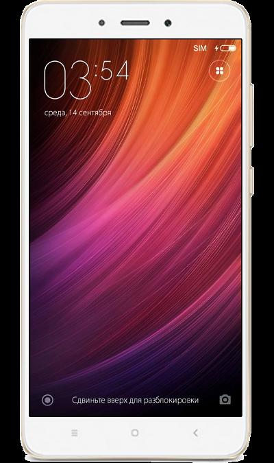 Xiaomi Redmi Note 4 3/32GB GoldСмартфоны<br>2G, 3G, 4G, Wi-Fi; ОС Android; Дисплей сенсорный 16,7 млн цв. 5.5; Камера 13 Mpix, AF; Разъем для карт памяти; MP3,  BEIDOU / GPS / ГЛОНАСС; Вес 165 г.<br><br>Colour: Золотистый
