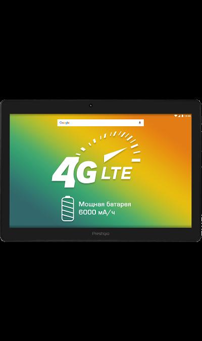 Prestigio MultiPad PMT3201 4G BlackПланшеты<br>2G, 3G, 4G, Wi-Fi; ОС Android; Дисплей сенсорный емкостный 16,7 млн цв. 10.1; Камера 2 Mpix; Разъем для карт памяти; MP3, FM,  GPS; Вес 573 г.<br><br>Colour: Черный