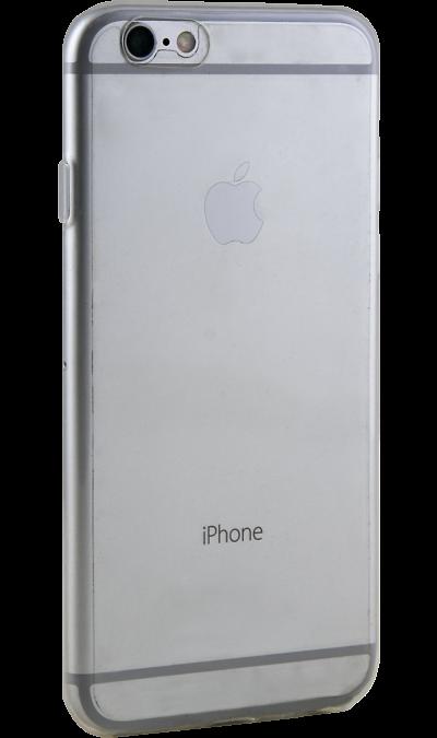 RedLine Чехол-крышка RedLine для Apple iPhone 6/6S, силикон, прозрачный чехол клип кейс redline ibox fresh для apple iphone 6 6s красный [ут000010062]