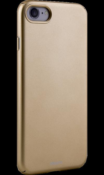 Чехол-крышка Deppa Air Case для Apple iPhone 7/8, пластик, золотистыйЧехлы и сумочки<br>Чехол Deppa поможет не только защитить ваш iPhone от повреждений, но и сделает обращение с ним более удобным, а сам аппарат будет выглядеть еще более элегантным.<br><br>Colour: Золотистый