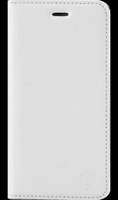 Чехол-книжка Deppa Wallet Cover  для Apple iPhone 6/6s, кожзам, белыйЧехлы и сумочки<br>Чехол поможет не только защитить ваш Apple iPhone 6 от повреждений, но и сделает обращение с ним более удобным, а сам аппарат будет выглядеть еще более элегантным.<br><br>Colour: Белый
