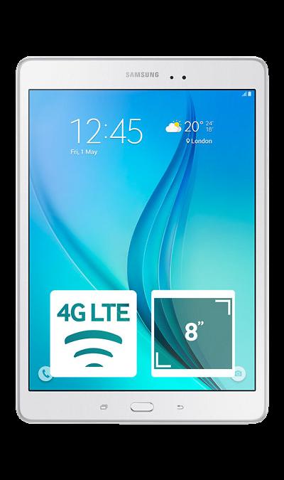 Samsung Galaxy Tab A 8.0 SM-T355 16GbПланшеты<br>2G, 3G, 4G, Wi-Fi; ОС Android; Дисплей сенсорный емкостный 16,7 млн цв. 8; Камера 5 Mpix, AF; Разъем для карт памяти; BEIDOU / GPS / ГЛОНАСС; 28.0 ч.; Вес 320 г.<br><br>Colour: Белый