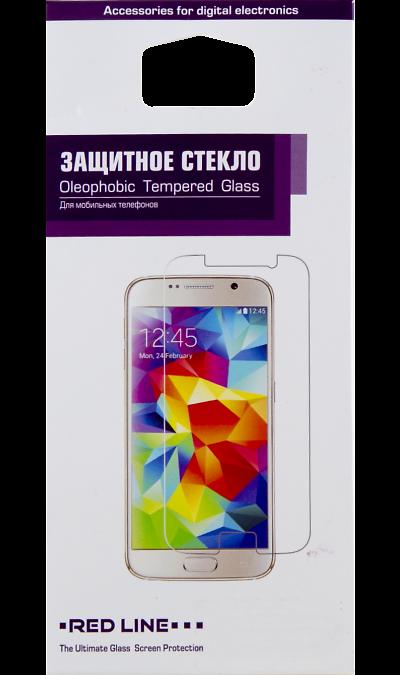Защитное стекло RedLine для Galaxy A5 (2016)Защитные стекла и пленки<br>Качественное защитное стекло прекрасно защищает дисплей от царапин и других следов механического воздействия. Оно не содержит клеевого слоя и крепится на дисплей благодаря эффекту электростатического притяжения.<br>