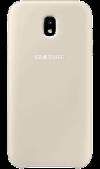 Чехол-крышка Samsung для Galaxy J3 (2017), пластик, молочныйЧехлы и сумочки<br>Чехол Samsung поможет не только защитить ваш Samsung Galaxy J3 (2017) от повреждений, но и сделает обращение с ним более удобным, а сам аппарат будет выглядеть еще более элегантным.<br><br>Colour: Бежевый