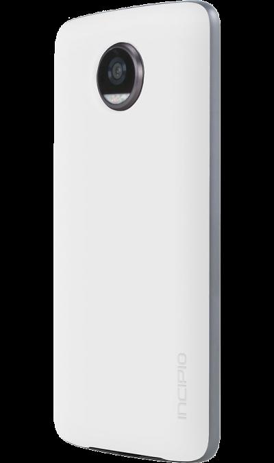 Модуль Motorola Аккумулятор Incipio PowerPack WhiteДругие устройства<br>Дополнительный заряд энергии <br>Увеличь время автономной работы своего телефона до 22 часов. Забудь о поиске розеток. <br> <br>Получи дополнительный заряд энергии<br>Внешний аккумулятор offGRID производства Incipio получил емкость 2220 мА/ч, которой хватит на то, чтобы увеличить время автономной работы твоего смартфона на 22 часа в любой момент. Прикрепи модуль к телефону, чтобы зарядить его в дороге. <br> <br>Особенности<br>Интеллектуальная и изящная конструкция ...<br>