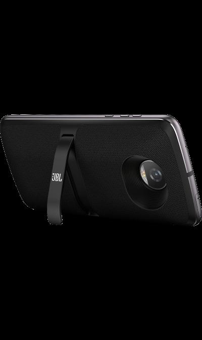 Модуль Motorola Колонки SoundBoost 2 BlackДругие устройства<br>Технология JBL для звука высочайшего качества. В любом месте. <br><br>Акустическая система JBL SoundBoost с легкостью крепится к твоему Moto Z. Мгновение и ты сможешь насладиться мощным стереозвучанием потрясающего качества. Без настроек. Без проблем. Отличное решение для вечеринок на пляже и заднем дворе. <br>Звук JBL<br><br>Открой новые возможности своего телефона и новые возможности для развлечений. Мощное стереозвучание. Мгновенно. <br>Особенности<br><br>Система ...<br>