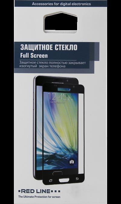 Защитное стекло RedLine для Samsung Galaxy S8 3DЗащитные стекла и пленки<br>Качественное защитное стекло прекрасно защищает дисплей от царапин и других следов механического воздействия. Оно не содержит клеевого слоя и крепится на дисплей благодаря эффекту электростатического притяжения.<br>