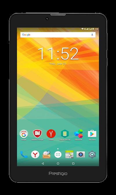 Prestigio GRACE 3257 BlackПланшеты<br>2G, 3G, Wi-Fi; ОС Android; Камера 2 Mpix; Разъем для карт памяти; MP3, FM,  GPS; Время работы 56 ч. / 6.0 ч.; Вес 273 г.<br><br>Colour: Черный