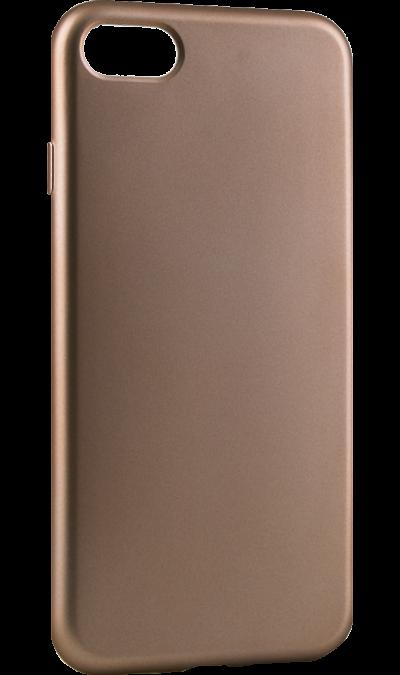 Gresso Чехол-крышка Gresso Нео для Apple iPhone 7/8, полиуретан, золотистый клип кейс gresso виктория модель 1 для apple iphone 7 8 с рисунком