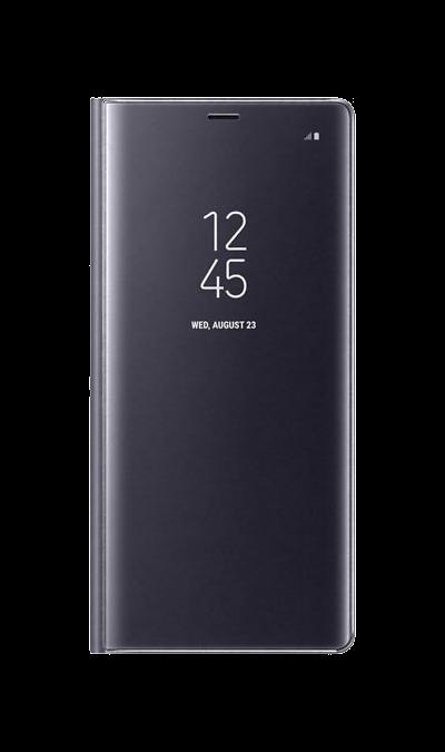 Samsung Чехол-книжка Samsung для Galaxy Note8, полиуретан, фиолетовый чехол для samsung galaxy note printio сад земных наслаждений