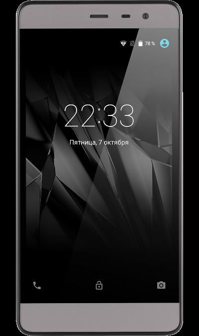 Micromax Q4202 GreyСмартфоны<br>2G, 3G, 4G, Wi-Fi; ОС Android; Камера 5 Mpix; Разъем для карт памяти; MP3, FM,  GPS; Время работы 600 ч. / 4.0 ч.; Вес 154 г.<br><br>Colour: Серебристый