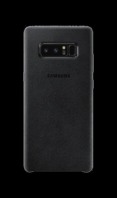 Чехол-крышка Samsung для Note8, алькантара, черныйЧехлы и сумочки<br>Чехол Samsung поможет не только защитить ваш Samsung Galaxy Note8 от повреждений, но и сделает обращение с ним более удобным, а сам аппарат будет выглядеть еще более элегантным.<br><br>Colour: Черный