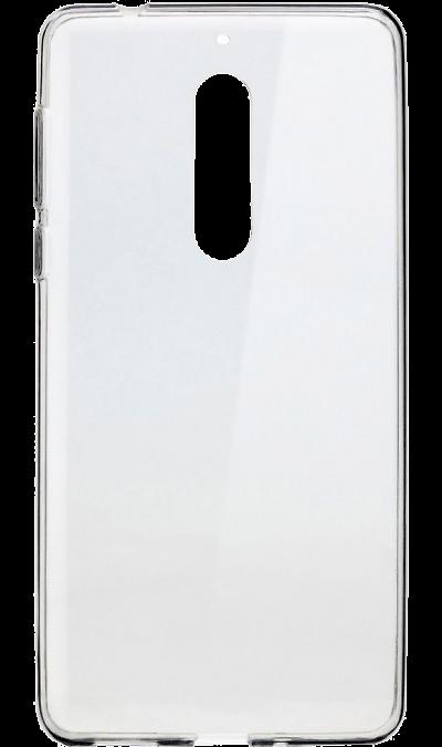 Nokia Чехол-крышка Nokia для Nokia 5, силикон, прозрачный стоимость