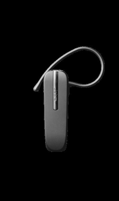 Bluetooth-гарнитура Jabra 2047, стереоНаушники и гарнитуры<br>Простота использования<br> Легкое сопряжение с любым Bluetooth-устройством. Одна удобная кнопка позволяет включать/выключать гарнитуру, запускать процесс сопряжения и управлять вызовами без необходимости доставать ваш телефон. При желании можно без труда снять или перевернуть крепления EarHook для ношения на другом ухе. <br>Подключение к 2 устройствам <br> Возможность одновременного подключения к двум разным устройствам. При поступлении вызова на одно из устройств гарнитура ...<br><br>Colour: Черный