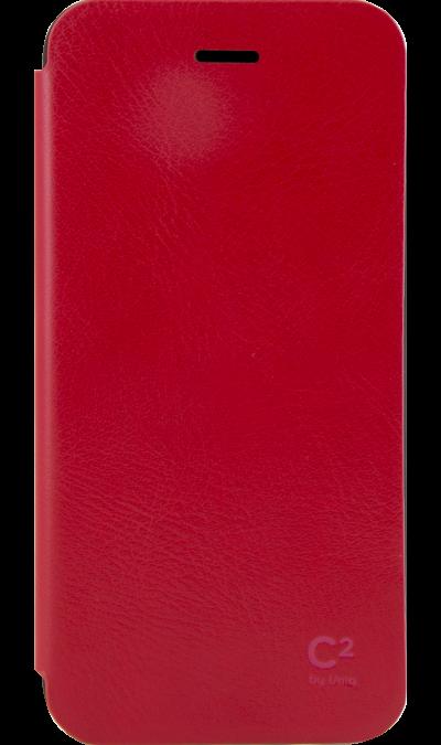 Чехол-книжка Uniq для Apple iPhone 6/6s, кожзам, красныйЧехлы и сумочки<br>Чехол поможет не только защитить ваш Apple iPhone 6 от повреждений, но и сделает обращение с ним более удобным, а сам аппарат будет выглядеть еще более элегантным.<br><br>Colour: Красный