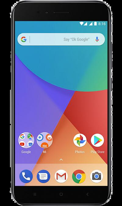 Xiaomi Mi A1 64GB BlackСмартфоны<br>2G, 3G, 4G, Wi-Fi; ОС Android; Камера 12 Mpix, AF; Разъем для карт памяти; MP3,  BEIDOU / GPS / ГЛОНАСС; Вес 165 г.<br><br>Colour: Черный