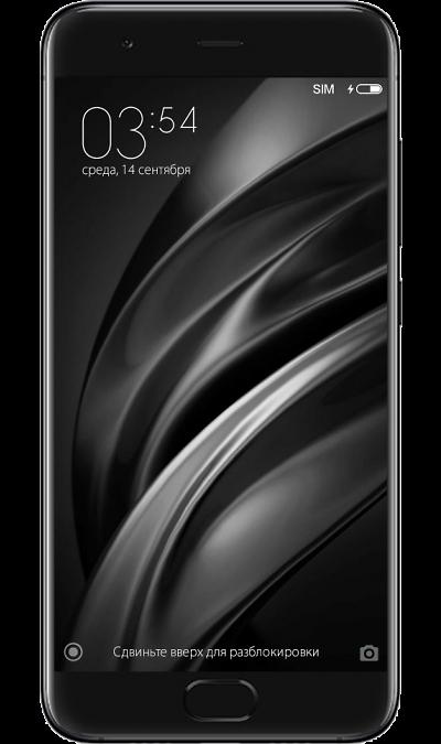 Xiaomi Mi6 64GBСмартфоны<br>2G, 3G, 4G, Wi-Fi; ОС Android; Дисплей сенсорный 16,7 млн цв. 5.15; Камера 12 Mpix, AF; MP3,  BEIDOU / GPS / ГЛОНАСС; Вес 168 г.<br><br>Colour: Черный