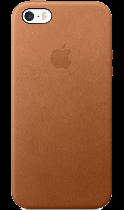 Чехол-крышка Apple MNYW2ZM iP5S/SE, кожа, коричневыйЧехлы и сумочки<br>Этот роскошный чехол от Apple изготовлен из специально обработанной и выделанной кожи европейского производства. Поскольку он создан специально для iPhone SE, он плотно прилегает к корпусу, так что ваш телефон всё равно будет выглядеть невероятно тонким. Мягкая внутренняя поверхность чехла, выполненная из микроволокна, защитит корпус вашего iPhone. А внешняя сторона порадует вас насыщенным оттенком: благодаря специальной технологии краситель проникает глубоко в структуру кожи.<br><br>Colour: Коричневый