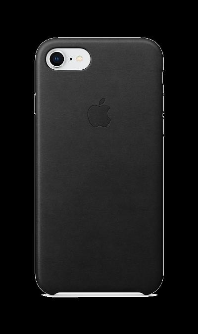 Чехол-крышка Apple MQH92ZM для Apple iPhone 7/8, кожа, черныйЧехлы и сумочки<br>Кожаный чехол iPhone 7/8 плотно прилегает к кнопкам громкости и режима сна, точно повторяет контуры телефона, но при этом не делает его громоздким. Мягкая подкладка из микроволокна защищает корпус iPhone. А его внешняя силиконовая поверхность очень приятна на ощупь.<br><br>Colour: Черный