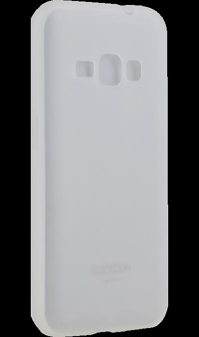 Uniq Чехол-крышка Uniq Bodycon для Samsung Galaxy J1 (2016), пластик, прозрачный uniq чехол крышка uniq bodycon для samsung galaxy a3 силикон черный