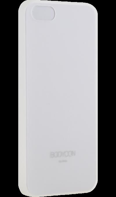 Uniq Чехол-крышка Uniq Bodycon для iPhone 5s/SE, пластик, прозрачный uniq чехол крышка uniq feltro для apple iphone x пластик микрофибра синий