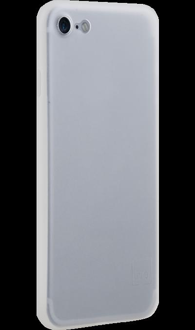 Uniq Чехол-крышка Uniq Bodycon для iPhone 7/8, пластик, прозрачный uniq чехол крышка uniq bodycon для iphone 6 6s пластик розовое золото