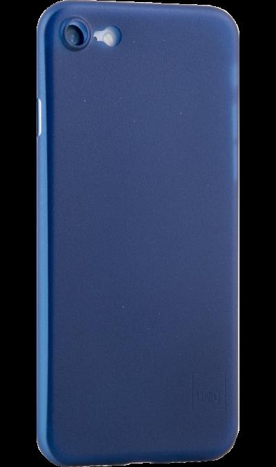 Uniq Чехол-крышка Uniq Bodycon для iPhone 7/8, пластик, синий uniq чехол крышка uniq bodycon для apple iphone 6 plus силикон синий