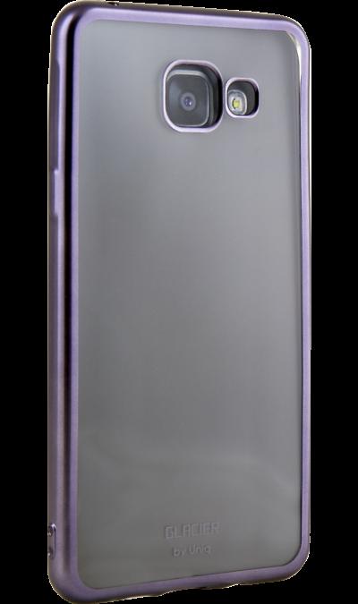 Чехол-крышка Uniq Glacer для Samsung Galaxy A5 (2016), силикон, серебристыйЧехлы и сумочки<br>Чехол Uniq поможет не только защитить ваш Samsung Galaxy A5 (2016) от повреждений, но и сделает обращение с ним более удобным, а сам аппарат будет выглядеть еще более элегантным.<br><br>Colour: Серебристый
