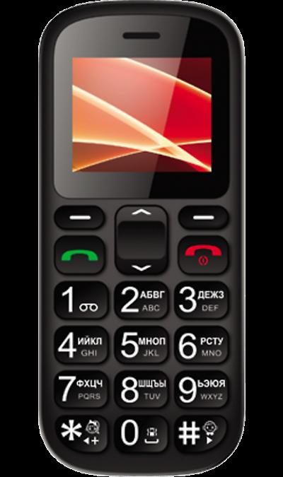 Vertex C305 Black/OrangeТелефоны<br>2G; Дисплей 65,5 тыс цв. 1.77; Разъем для карт памяти; MP3, FM; Время работы 100 ч. / 5.0 ч.; Вес 75 г.<br><br>Colour: Черный