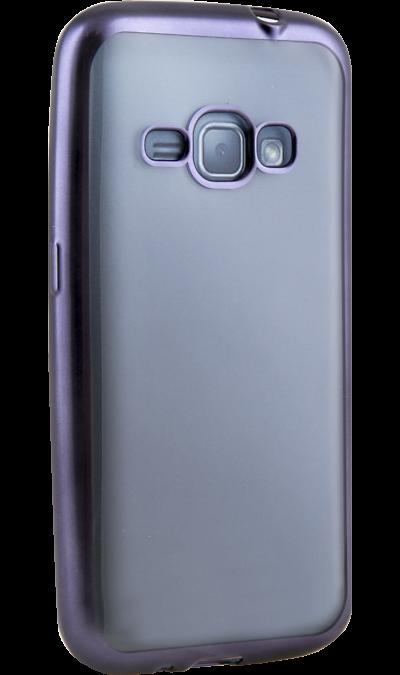 Uniq Чехол-крышка Uniq Glacer для Samsung Galaxy J1 (2016), пластик, фиолетовый uniq чехол крышка uniq glace для samsung galaxy j7 prime пластик прозрачный