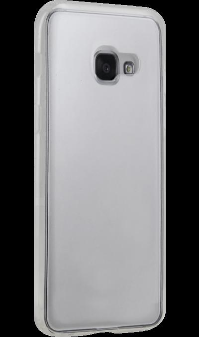 Uniq Чехол-крышка Uniq Glace для Samsung Galaxy A3 (2017), пластик, прозрачный uniq чехол крышка uniq bodycon для samsung galaxy a3 силикон черный