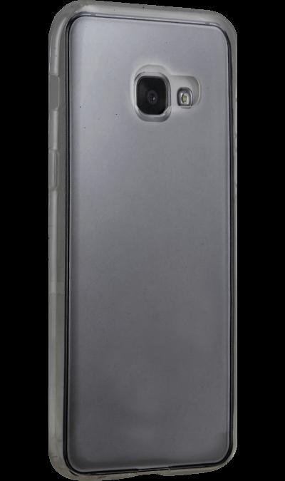 Uniq Чехол-крышка Uniq Glace для Samsung Galaxy A3 (2017), пластик, серый uniq чехол крышка uniq bodycon для samsung galaxy a3 силикон черный