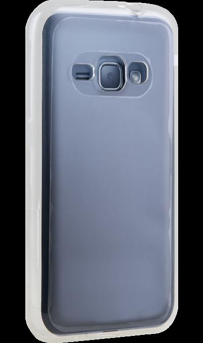 Uniq Чехол-крышка Uniq Glace для Samsung Galaxy J1 (2016), силикон, прозрачный uniq чехол крышка uniq glace для samsung galaxy j7 prime пластик прозрачный