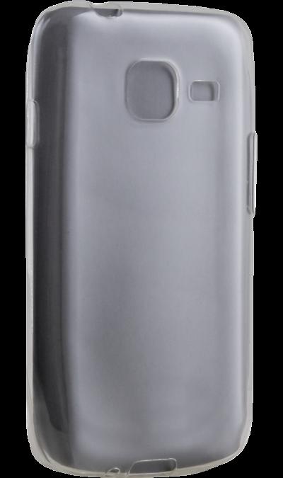 Чехол-крышка Uniq Glace для Samsung Galaxy J1 Mini (2016), силикон, прозрачныйЧехлы и сумочки<br>Чехол Uniq поможет не только защитить ваш Samsung Galaxy J1 Mini  (2016) от повреждений, но и сделает обращение с ним более удобным, а сам аппарат будет выглядеть еще более элегантным.<br>