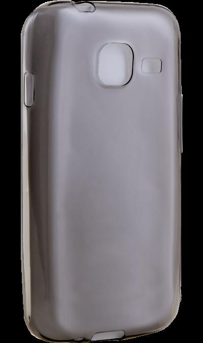 Uniq Чехол-крышка Uniq Glace для Samsung Galaxy J1 Mini (2016), силикон, серый uniq чехол крышка uniq glace для samsung galaxy j7 prime пластик прозрачный