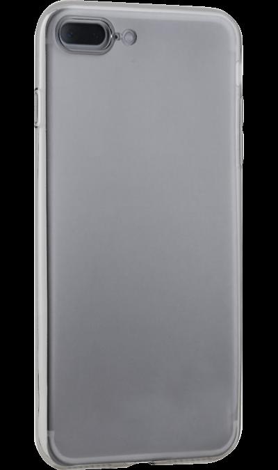 Uniq Чехол-крышка Uniq Glace для iPhone 7 Plus/ 8 Plus, силикон, серый uniq чехол крышка uniq bodycon для apple iphone 6 plus силикон синий