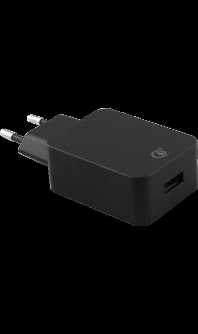 Зарядное устройство сетевое Bron 3А (черное)Зарядные устройства<br>Сетевое зарядное устройство Bron можно использовать для зарядки аккумуляторов аппаратов. USB кабель в комплект не входит.<br><br>Colour: Черный