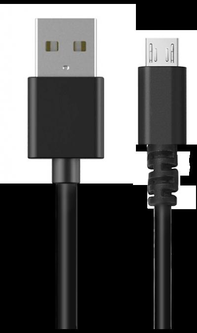 Кабель Bron micro (черный)Кабели и адаптеры<br>Кабель зарядки и передачи данных для мобильных устройств с разъемом Lightning.<br><br>Colour: Черный