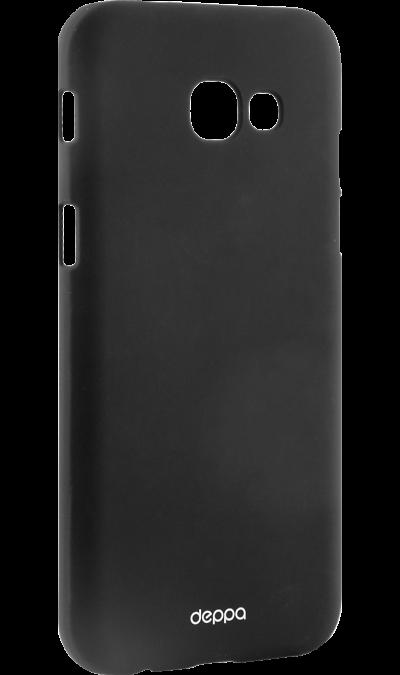 Deppa Чехол-крышка Deppa Air Case для Samsung Galaxy A5 (2017), пластик, черный чехлы для телефонов deppa чехол air case для samsung galaxy a7 2016 серый